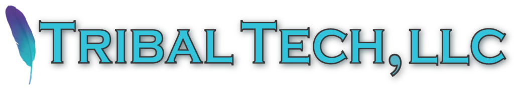 Tribal Tech, LLC logo image with external hyperlink to their company website.